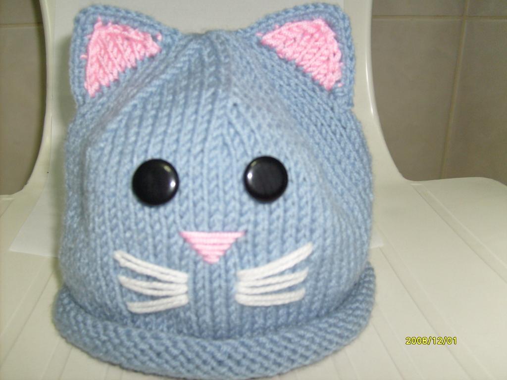 Kedili bebek şapkası modeli yapılışı anlatımlı