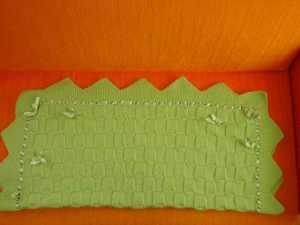 Kesme şeker örgü modelli bebek battaniyesi yapılışı (anlatımlı)