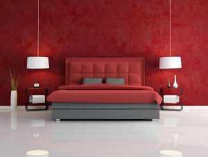 Dekorasyonda kırmızı renginin kullanılması gereken mekanlar