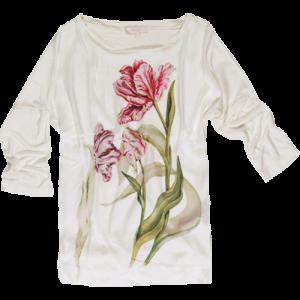Koton 2011 İlkbahar - Yaz Koleksiyonu - Çiçek desenli kapri kol bluz modeli