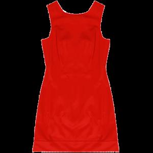 Koton 2011 İlkbahar - Yaz Koleksiyonu - Kırmızı renk klasik elbise modelleri
