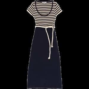 Koton 2011 İlkbahar - Yaz Koleksiyonu - Denizci tarzı derin yaka elbise modelleri