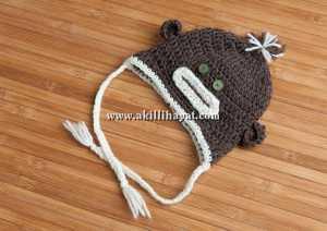 apaçhi bebek şapkası modeli