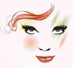 Kahve kızıl saç rengi ve yeşil renk gözleri olanlar nasıl makyaj yapmalı ?