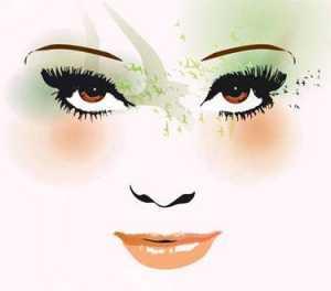 Kahverengi Saç ve Kahverengi Gözleri olanlar hangi renk allık hangi renk ruj ve hangi renk far kullanmalılar ?