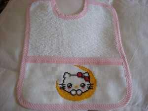Hello Kitty ' li mama önlüğü modeli