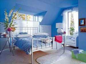 Ev Dekorasyonunda mavi rengin kullanılması gereken mekanlar