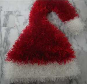 Örgü Yeni yıl -  Noel Baba şapkası modeli yapılışı (anlatımlı)