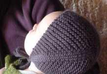 pratik örgü bebek beresi modeli yapılışı