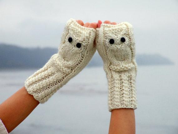 baykuşlu yarım eldiven modelleri