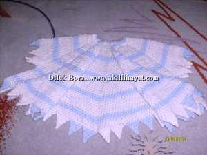 Dilek Bora ' dan çocuklar için kollu pelerin modelleri