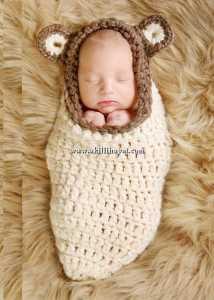El işi kundak tarzı bebek tulumu modeli