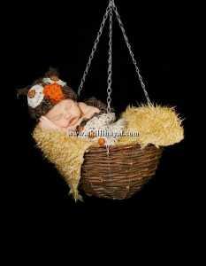 Örgü kundak tarzı baykuş tığ işi bebek tulumu modelleri
