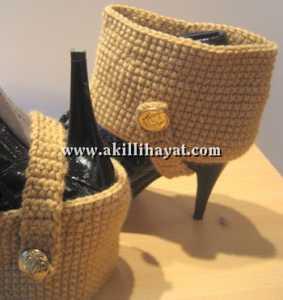 Derya Baykal -- Ayakkabı tozluk modeli yapılışı (anlatımlı)