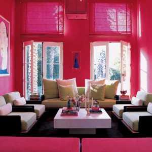 Ev Dekorasyonunda pembe rengin kullanılması gereken mekanlar