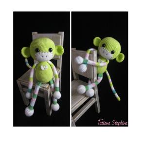 Amigurumi perde tutucu örgü maymun modeli yapılışı anlatımlı