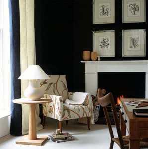 Ev Dekorasyonunda siyah rengin kullanılması gereken mekanlar