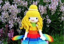 Amigurumi örgü oyuncak papatya kız yapılışı anlatımlı