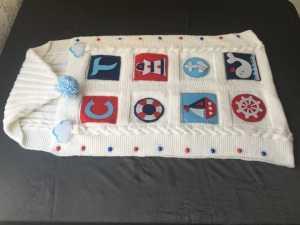 Örgü bebek battaniyesi ve örgü bebek tulumu modelleri anlatımlı