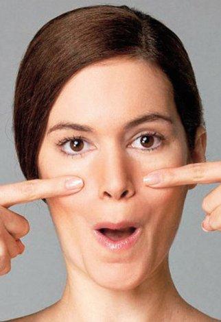 Evde yapılabilecek yüz jimlastiği hareketleri - yüz germe egzersizleri