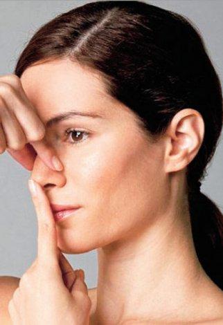 Evde yapılabilecek yüz jimlastiği hareketleri - Burun kaldırma egzersizleri