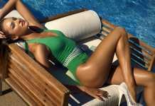 Zeki Triko 2011 Mayo , Bikini ve Mayokini Modelleri - 2011 Zeki gri kemerli yeşil bikini modeli