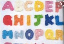Amigurumi örgü alfabe harf yapılışı anlatımlı