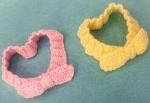 Bebekler için örgü saç bantları modelleri tarifi ve yapılışı anlatımlı
