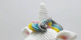 Amigurumi örgü oyuncak unicorn modeli yapılışı