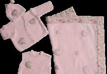 Bebek battaniyesi,bebek süveteri ve bebek hırka takımı yapılışı (anlatımlı)